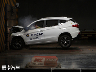 C-NCAP碰撞解析