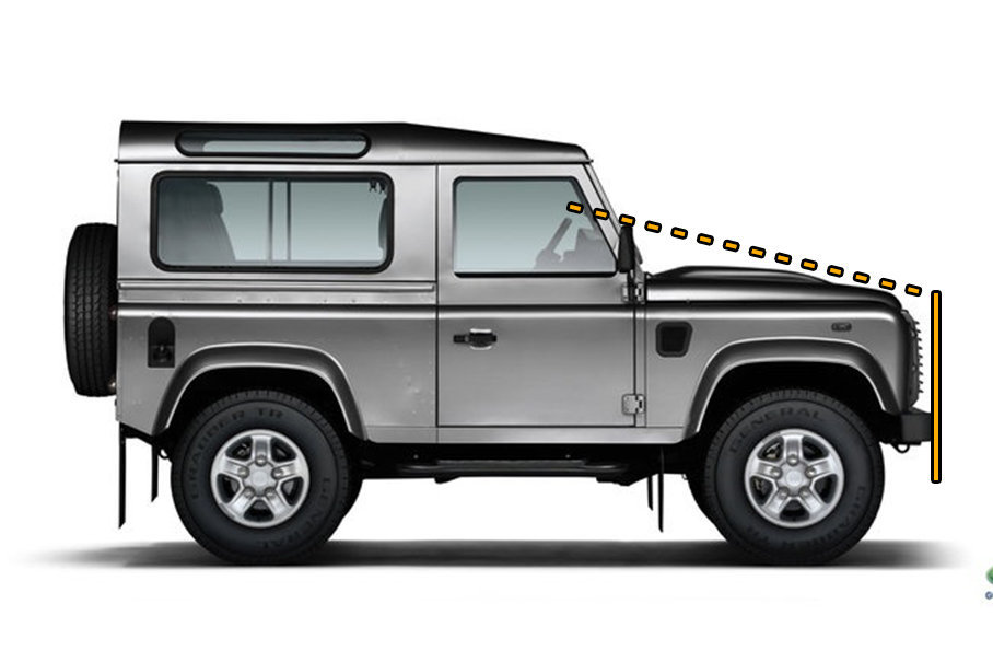 SUV越野设计