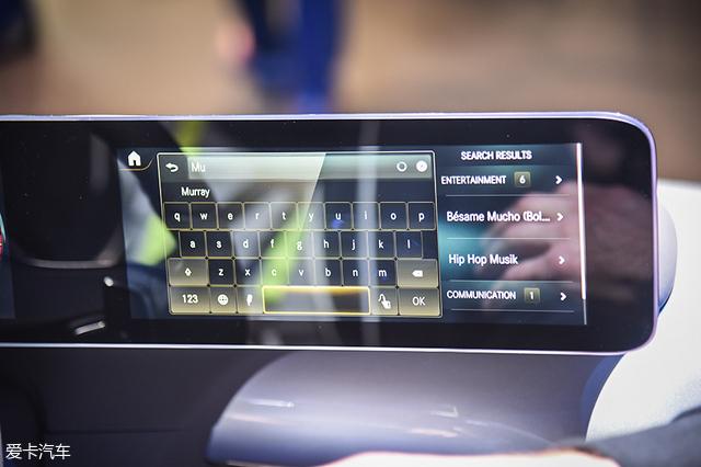奔驰CES新系统发布