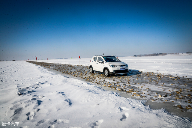 北汽电动车极寒测试