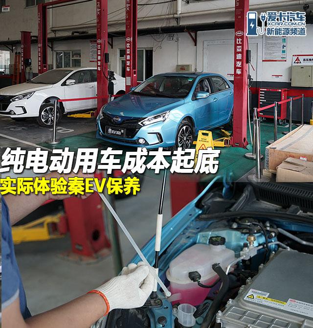 秦EV300保养