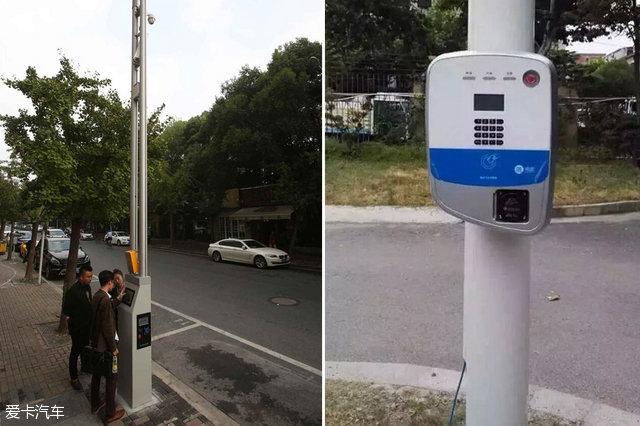 """""""智慧灯杆""""可以给电动汽车充电,监测pm2.5等."""