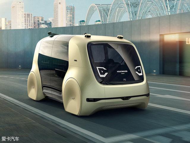 无人驾驶;自动驾驶;大众概念车;日内瓦车展