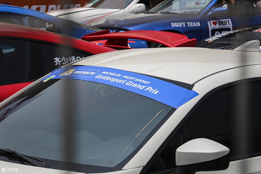 """GPGP的全称为""""Goldenport Grand Prix""""也就是金港大奖赛,是由米其林冠名的平民赛事。18日为本赛季第二站决赛,改装/无限改装分为两组(D、B、S一组;GK5、E为另外一组)。"""