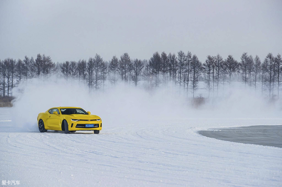 雪佛兰冰雪试驾