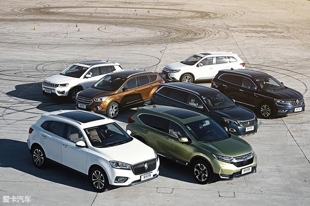 7款紧凑型SUV
