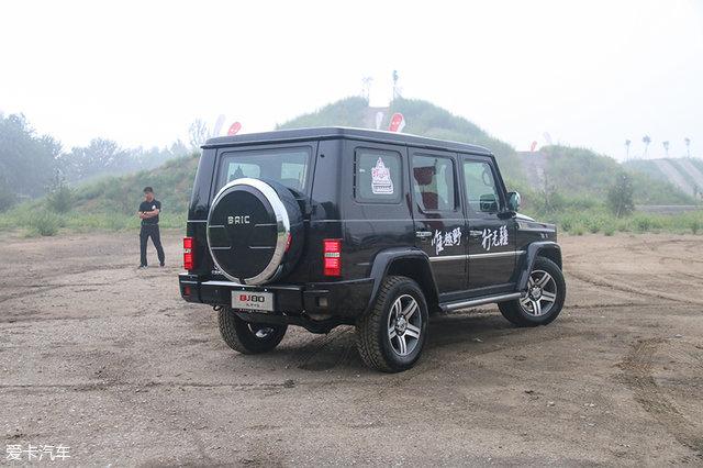 战狼精神!越野场地体验北京BJ40L/BJ80