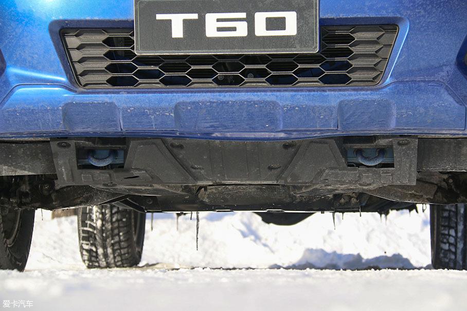 上汽大通T60冰雪驾驶体验