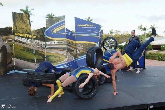 运动型轮胎的技术