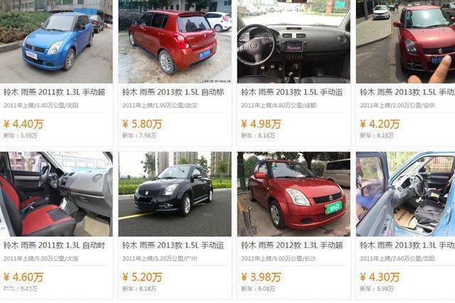 就是这么保值 这5款小型车二手价钱坚挺