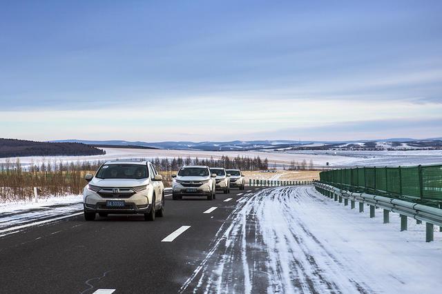 CR-V冬驾