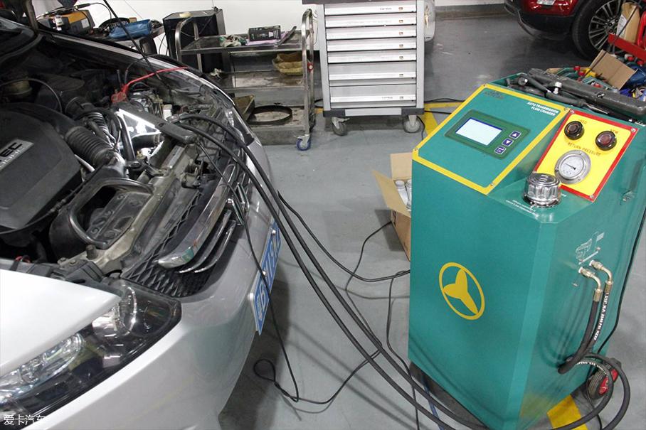 更换变速箱油