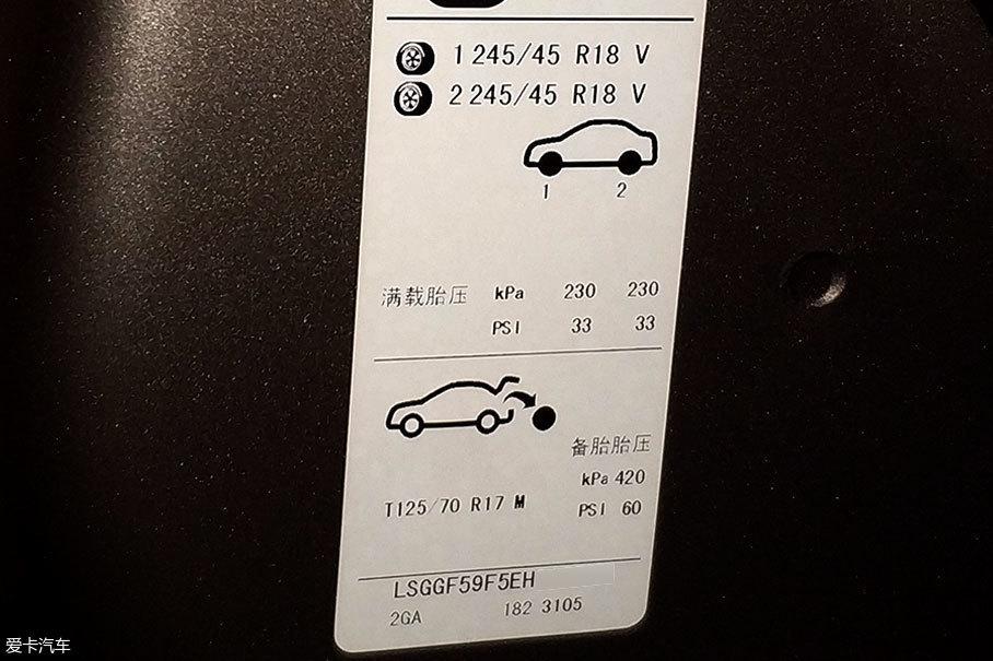 高也不成,低也不行,胎压值成了日常用车中纠结的问题。普通轿车胎压在2.5~2.7bar间就可以了,但最好以门框处厂家的规定值为准,一般来说,上面的数值可作为胎压的最低参考值。