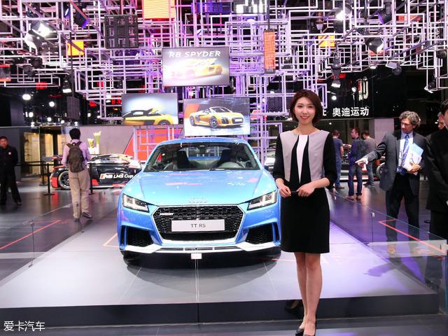 上海车展最美展台 品味奥迪科技之美高清图片