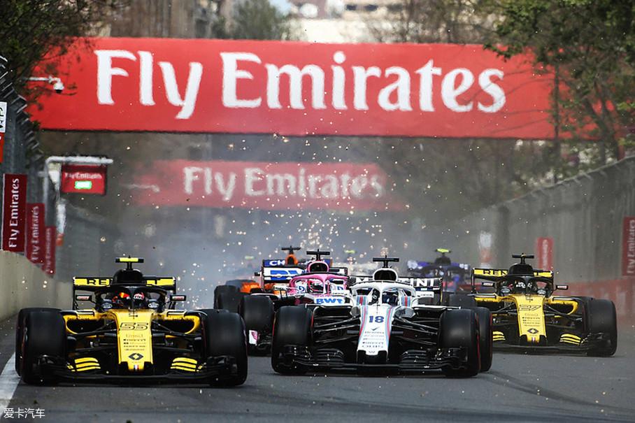 新赛季第四站比赛在巴库赛道上演,同时这也是今年的第一场街道赛。以难度系数高著称的街道赛果然没有让车迷失望,阿塞拜疆站的比赛已经成了目前为止新赛季中最混乱的比赛。