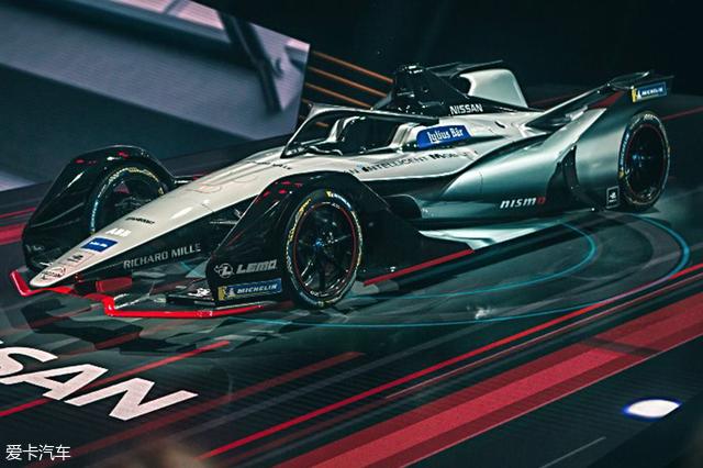 电动方程式新赛季将启用二代全新赛车图片