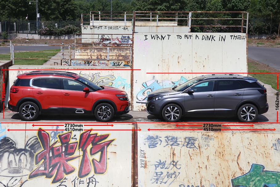 """同出身于PSA的EMP2平台下的两车在""""三围""""尺寸方面几乎一致,相同的车长,相同的轴距,唯有""""弟弟""""在车高尺寸上比""""哥哥""""略高一头。"""