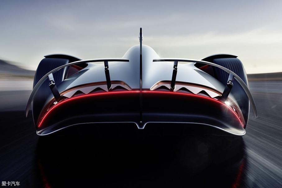 在复古车型车身造型的基础上,打磨出充满未来感的外观,难道这届圆石滩车展的主题是致敬?个人觉得对于这类概念车来说,性能什么的反倒不如外观值得细琢磨。