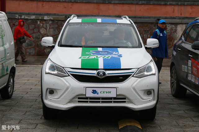 环青海湖挑战赛;北汽EH300;EU400;比亚迪宋EV300