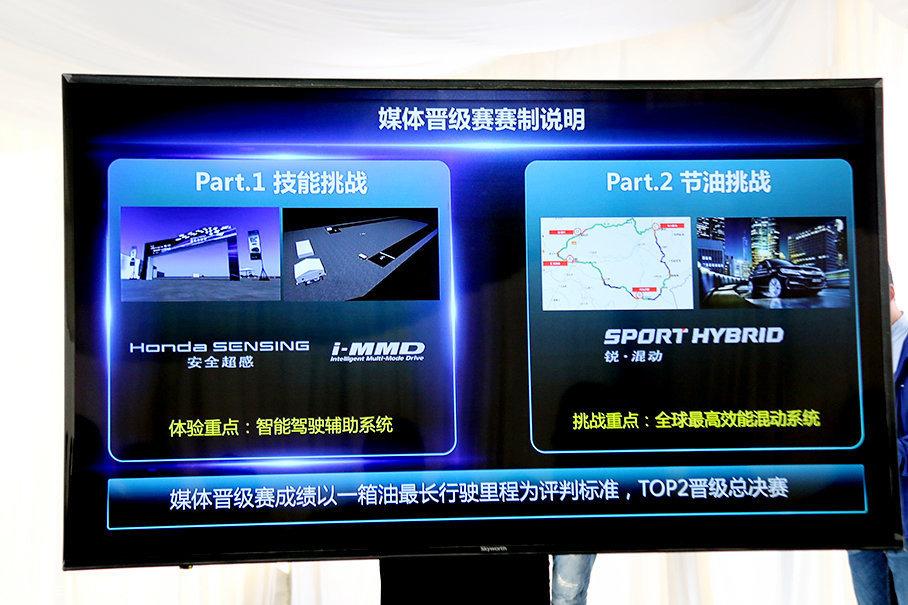 广汽本田特意安排了一个技能挑战赛,这个挑战赛类似积分赛,获得积分后,可以根据积分换取礼品,注意这个礼品对于接下来的节油赛帮助很大。