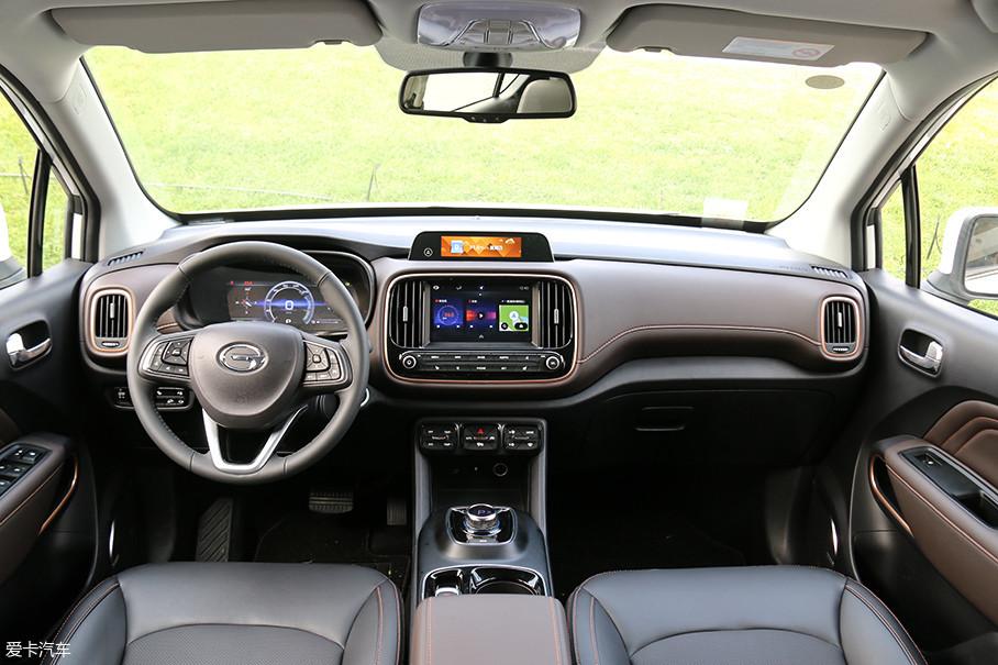 正如上文所说,坐进传祺ge3的车内,可以感受到设计师的用心.图片