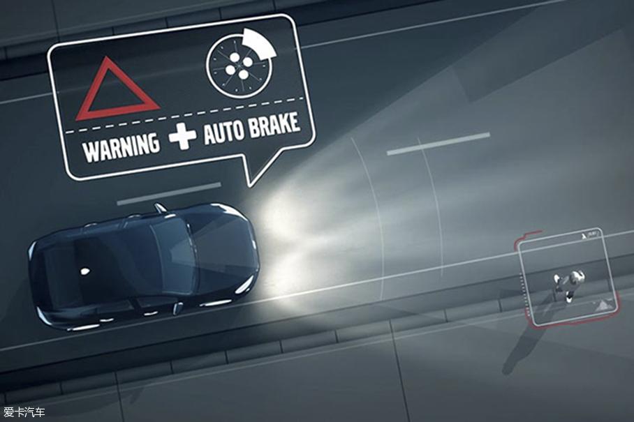 主动安全;自动刹车;车道保持;自适应巡航