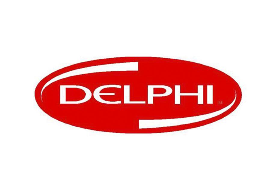 德尔福logo