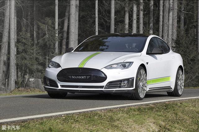 新能源汽车界的老大哥特斯拉Model S也来了一番改装.-铝合金靠边图片