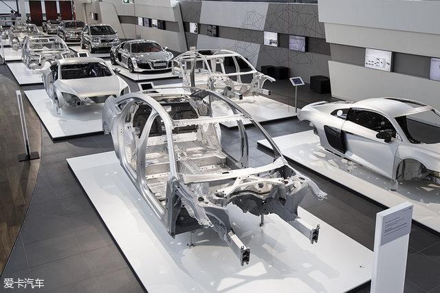 奥迪A8全铝车身