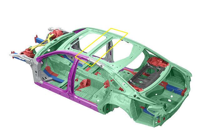 新奥迪A8L车身结构
