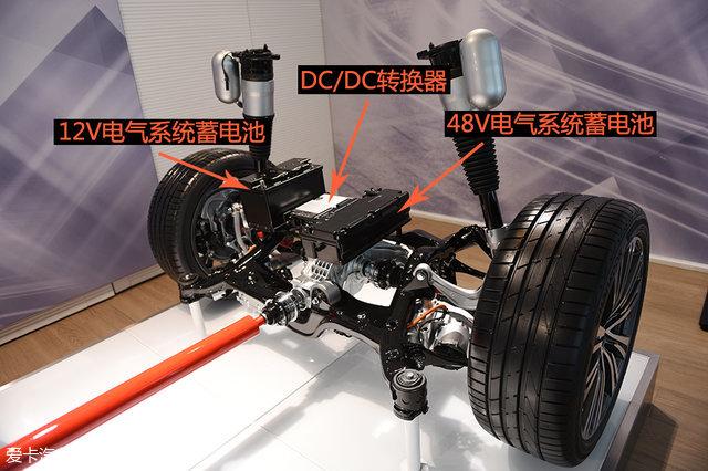 奥迪A8;奥迪A8底盘;48V电气系统