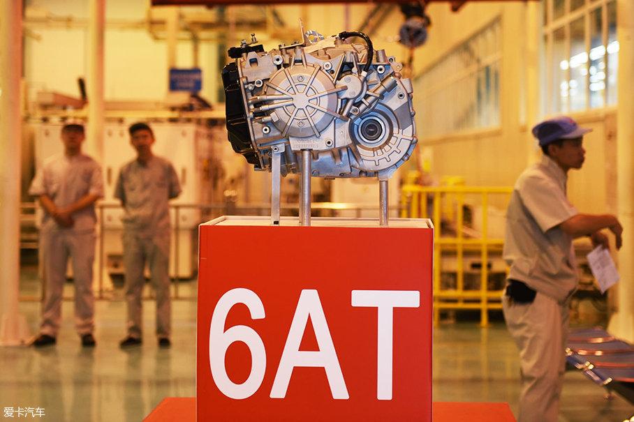东方装置6AT变快箱;中国首台己主6AT变快箱;