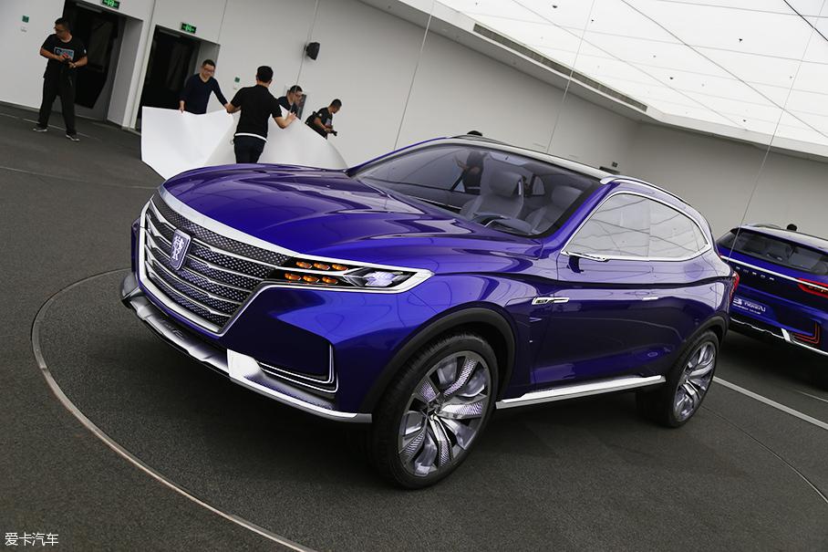 荣威SUV光之翼Vision-E 设计揭秘