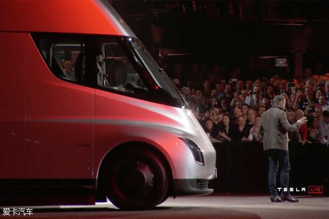 特斯拉纯电动卡车;发布