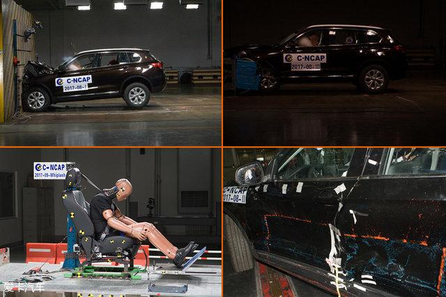 2017年第一批C-NCAP成绩公布