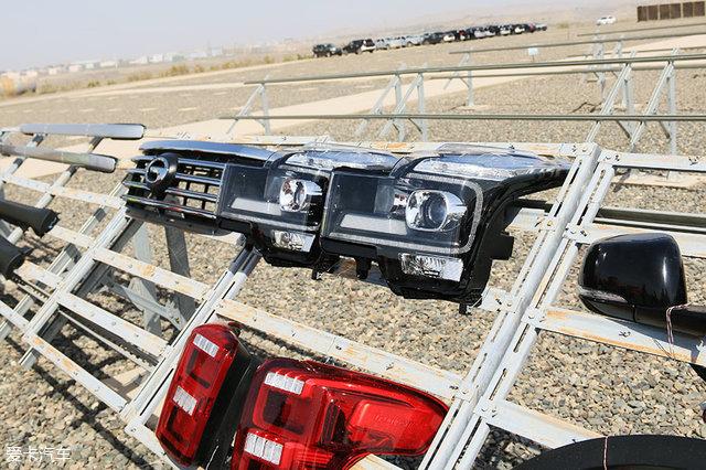 传祺汽车吐鲁番高温测试