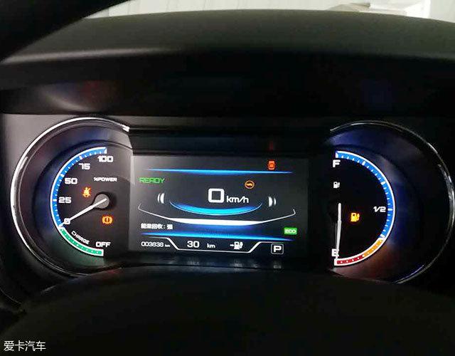大约在下午4点半左右到达了襄阳试车场。此时我的车子还剩30km的续航。