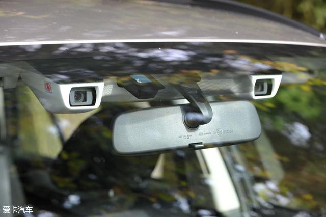 爱卡研究院 斯巴鲁eyesight系统测试