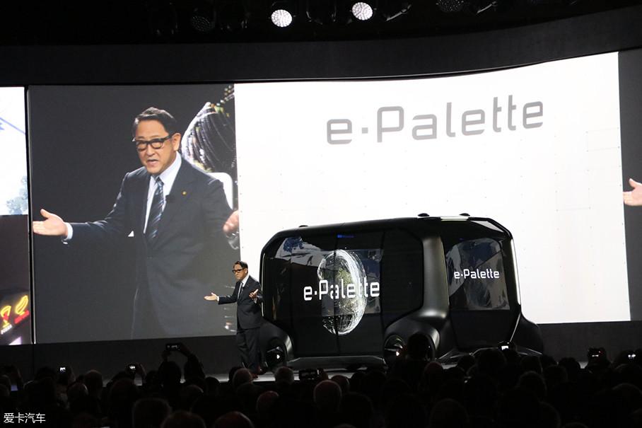 这款车将展示丰田对于未来出行在移动、物流等多方面的思考。