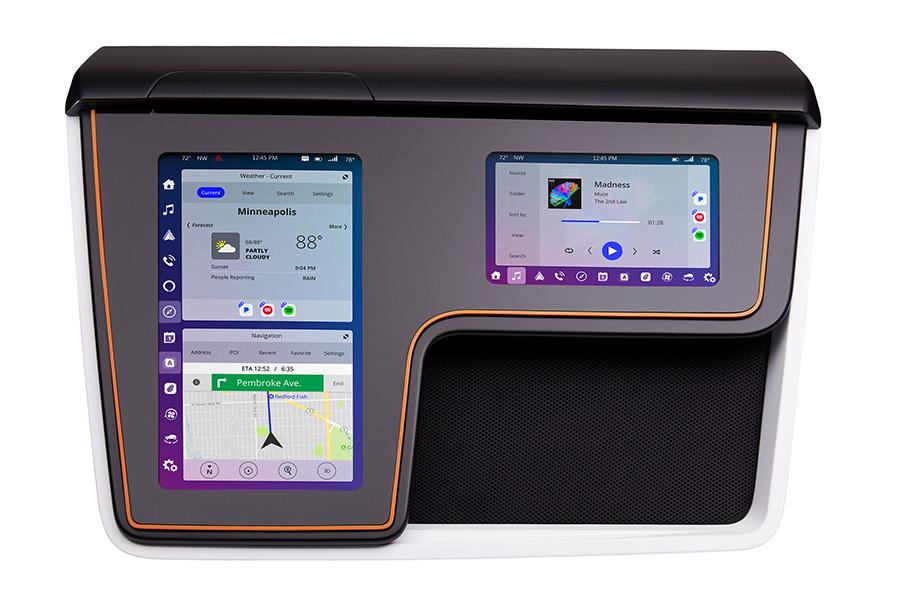 另一方面,SmartCore 座舱域控制器可以与伟世通的Phoenix 平台(车载系统)融合,可适用于不同屏幕尺寸、方向及分辨率的人机交互界面(HMI),第三方软件也可以随意运行。