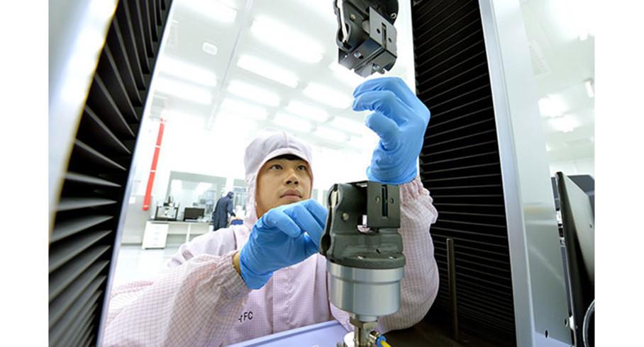 """各类核心配件的组装体""""动力总成燃料电池整合模块(PFC_Powertrain Fuelcell Complete)""""的年产量达3千台,这也意味着现代拥有了年产量3千辆氢燃料电池车规模的基础设施。"""