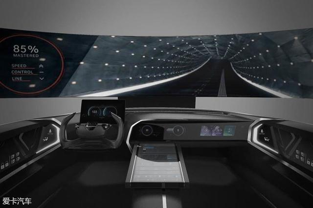 2018日内瓦车展;现代未在驾驶舱