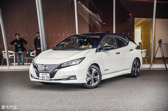 日产新能源车寒地测试