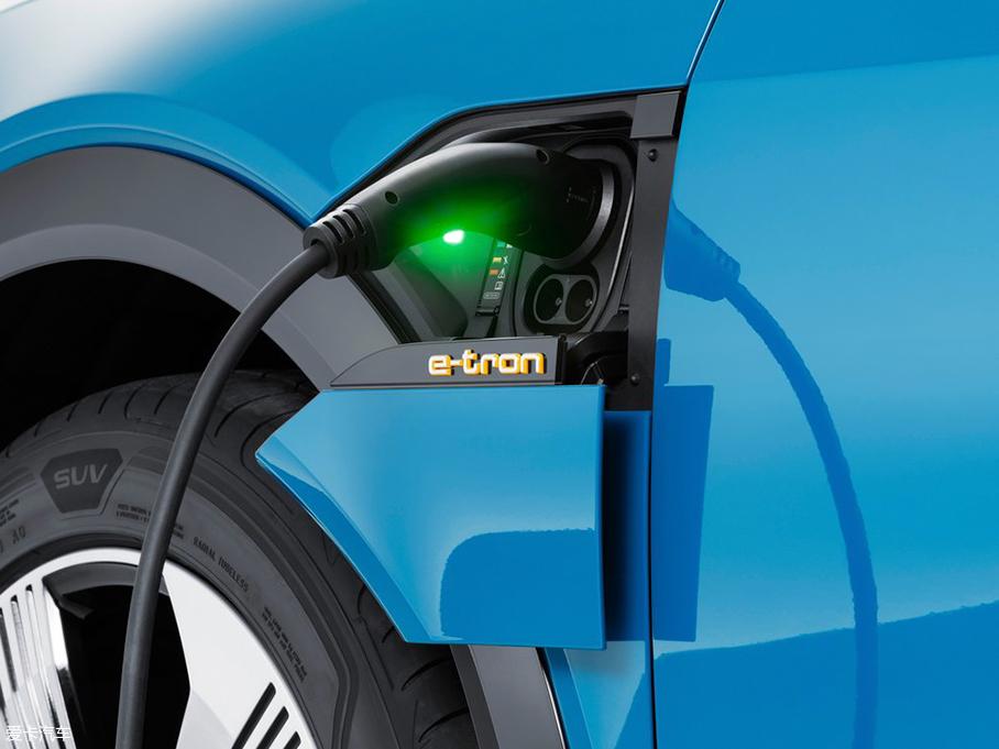 奥迪;e-tron;纯电动SUV;官图解析