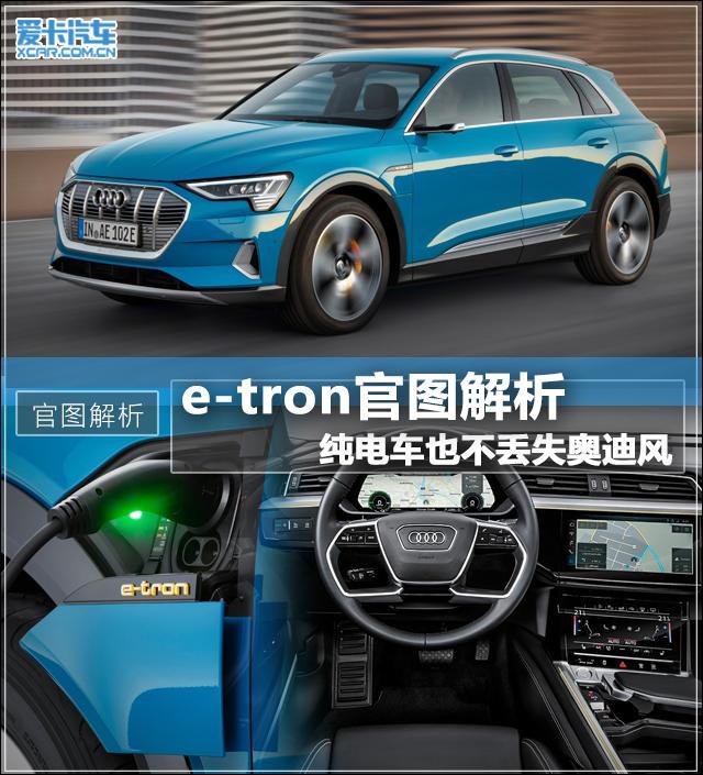 奥迪;纯电动SUV;e-tron;官图
