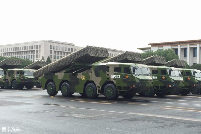 建军节之中国军车鉴赏