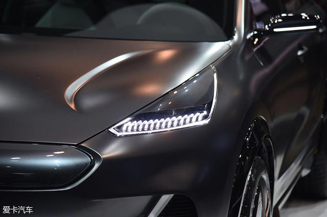 起亚Niro EV概念车;2018 CES