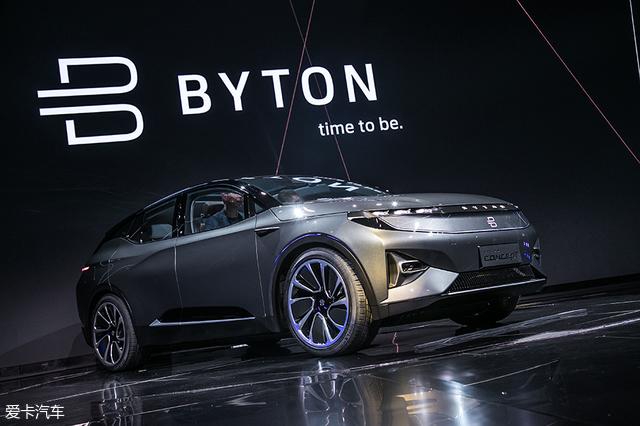 拜腾汽车;BYTON Concept;拜腾CES