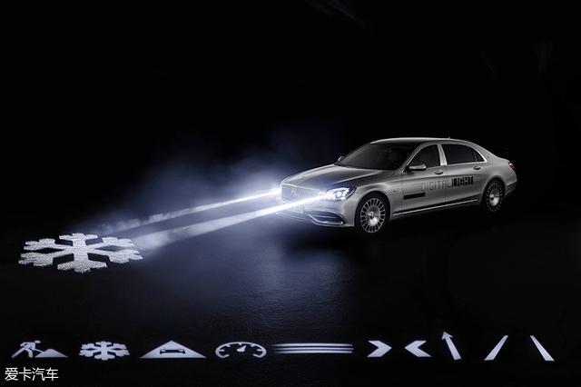 奔驰数字灯光技术;