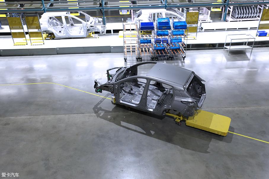 海马小鹏汽车工厂